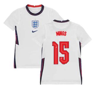2020-2021 England Home Nike Football Shirt (Kids) (Mings 15)