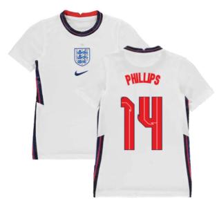 2020-2021 England Home Nike Football Shirt (Kids) (Phillips 14)