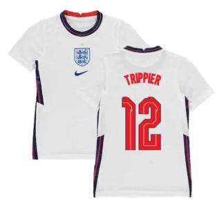 2020-2021 England Home Nike Football Shirt (Kids) (Trippier 12)