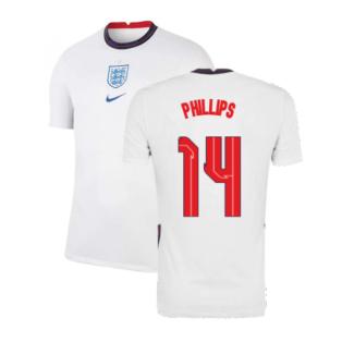 2020-2021 England Home Nike Football Shirt (Phillips 14)