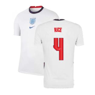 2020-2021 England Home Nike Football Shirt (Rice 4)