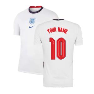 2020-2021 England Home Nike Football Shirt