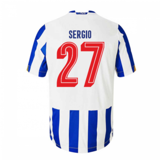 2020-2021 FC Porto Home Football Shirt (Kids) (SERGIO 27)