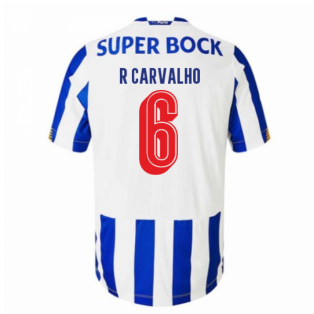 2020-2021 FC Porto Home Football Shirt (R CARVALHO 6)