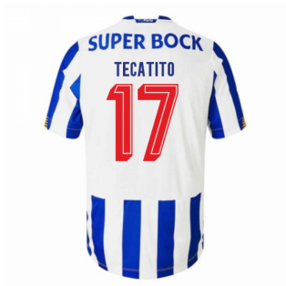 2020-2021 FC Porto Home Football Shirt (TECATITO 17)