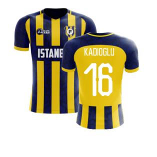2020-2021 Fenerbahce Home Concept Football Shir (Kadioglu 16)