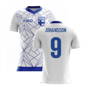 2020-2021 Finland Airo Concept Home Shirt (Johansson 9)