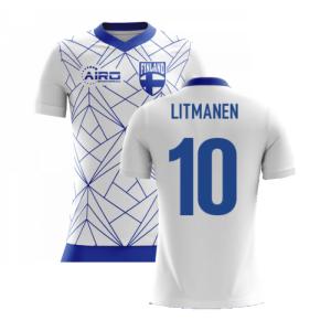 2020-2021 Finland Airo Concept Home Shirt (Litmanen 10)