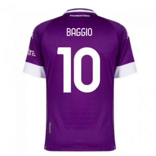 2020-2021 Fiorentina Home Shirt (BAGGIO 10)