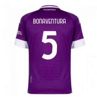 2020-2021 Fiorentina Home Shirt (BONAVENTURA 5)