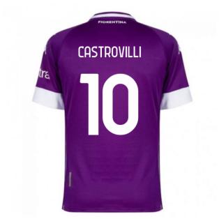 2020-2021 Fiorentina Home Shirt (CASTROVILLI 10)