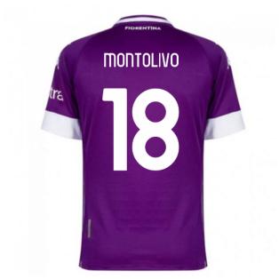 2020-2021 Fiorentina Home Shirt (MONTOLIVO 18)