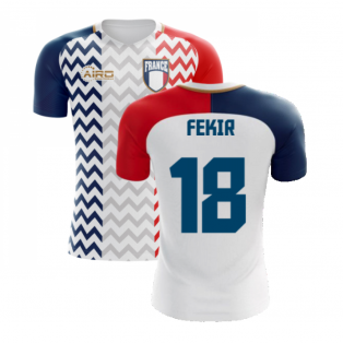 2020-2021 France Away Concept Shirt (Fekir 18) - Kids