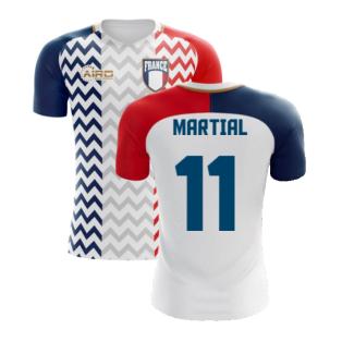 2020-2021 France Away Concept Shirt (Martial 11) - Kids