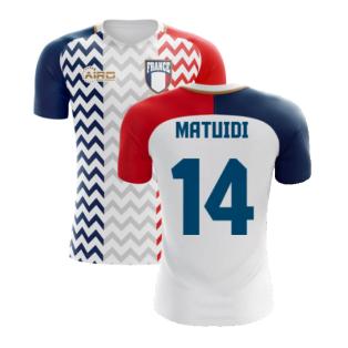 2020-2021 France Away Concept Shirt (Matuidi 14) - Kids