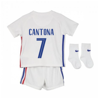 2020-2021 France Away Nike Baby Kit (CANTONA 7)