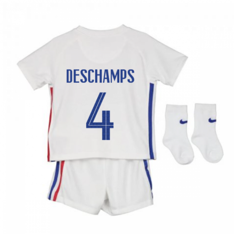 2020-2021 France Away Nike Baby Kit (DESCHAMPS 4)