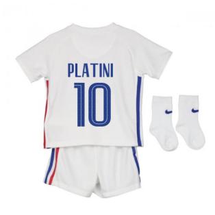 2020-2021 France Away Nike Baby Kit (PLATINI 10)