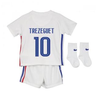 2020-2021 France Away Nike Baby Kit (TREZEGUET 10)