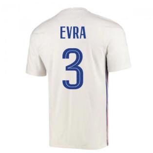 2020-2021 France Away Nike Football Shirt (EVRA 3)