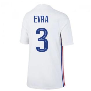 2020-2021 France Away Nike Football Shirt (Kids) (EVRA 3)
