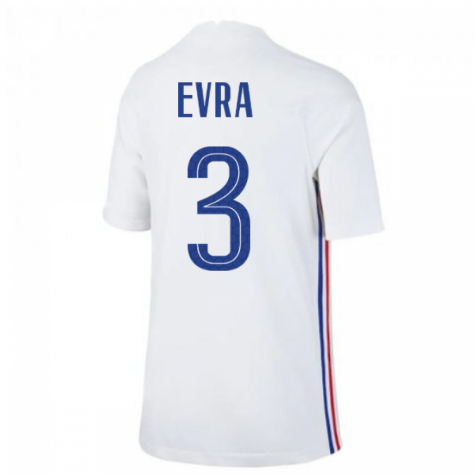 2020-2021 France Away Nike Football Shirt (Kids) (EVRA 3)