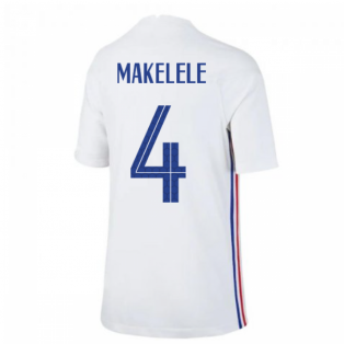 2020-2021 France Away Nike Football Shirt (Kids) (MAKELELE 4)