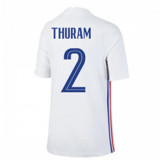 2020-2021 France Away Nike Football Shirt (Kids) (THURAM 2)