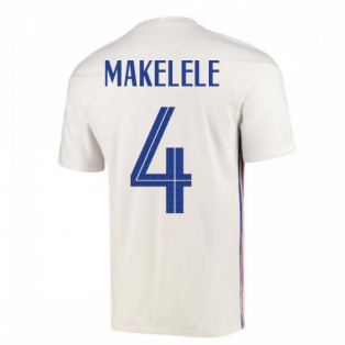 2020-2021 France Away Nike Football Shirt (MAKELELE 4)