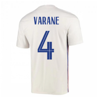 2020-2021 France Away Nike Football Shirt (VARANE 4)