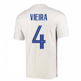 2020-2021 France Away Nike Football Shirt (VIEIRA 4)
