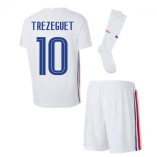 2020-2021 France Away Nike Little Boys Mini Kit (TREZEGUET 10)
