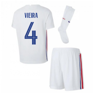 2020-2021 France Away Nike Little Boys Mini Kit (VIEIRA 4)