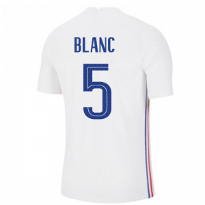 2020-2021 France Away Nike Vapor Match Shirt
