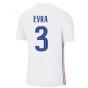 2020-2021 France Away Nike Vapor Match Shirt (EVRA 3)