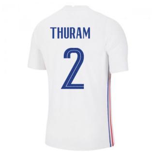 2020-2021 France Away Nike Vapor Match Shirt (THURAM 2)