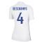2020-2021 France Away Nike Womens Shirt (DESCHAMPS 4)