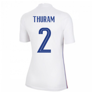 2020-2021 France Away Nike Womens Shirt (THURAM 2)
