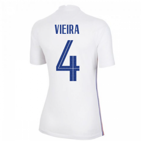2020-2021 France Away Nike Womens Shirt (VIEIRA 4)