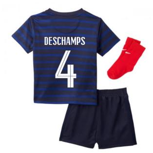 2020-2021 France Home Nike Baby Kit (DESCHAMPS 4)