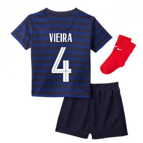 2020-2021 France Home Nike Baby Kit (VIEIRA 4)