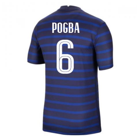 2020-2021 France Home Nike Football Shirt (POGBA 6)