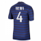2020-2021 France Home Nike Football Shirt (VIEIRA 4)