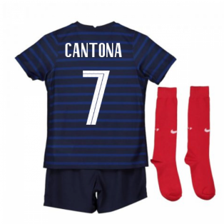 2020-2021 France Home Nike Mini Kit (CANTONA 7)