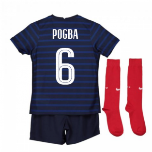 2020-2021 France Home Nike Mini Kit (POGBA 6)