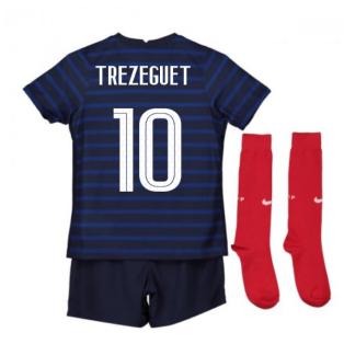 2020-2021 France Home Nike Mini Kit (TREZEGUET 10)