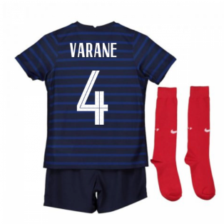 2020-2021 France Home Nike Mini Kit (VARANE 4)