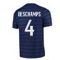 2020-2021 France Home Nike Vapor Match Shirt (DESCHAMPS 4)