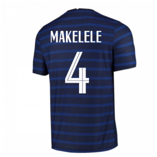 2020-2021 France Home Nike Vapor Match Shirt (MAKELELE 4)