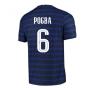 2020-2021 France Home Nike Vapor Match Shirt (POGBA 6)